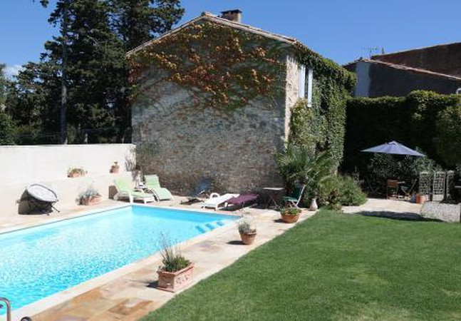 Photo 1 - House in Aigues-Vives with private pool