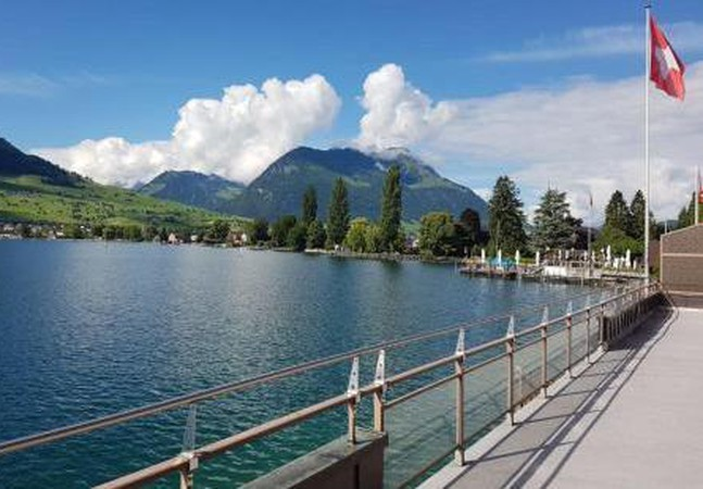Photo 1 - Holiday Home Seestern direkt am See