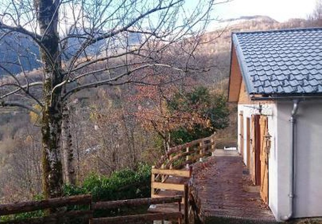 Photo 1 - Chalet in Larcat with terrace