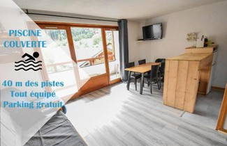 Foto 1 - Apartment in Saint-Jean-d'Aulps mit privater pool