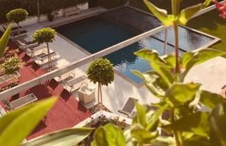 Foto 1 - Aparthotel in Lana mit schwimmbad